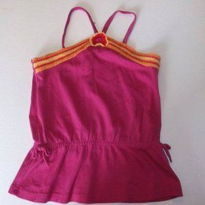 Gymboree Pink Camisole Top Girl Size 9 Fits 10-12